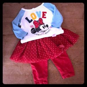 Disney Baby Outfit 0-3